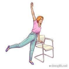 Bir sandalyeyi kullanarak evinizde göbeğinizden kurtulun   Mutluluk Köyüm