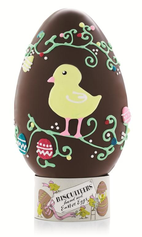 Biscuiteers Chick hand iced chocolate Easter Egg