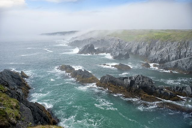 Cape Race Coastline by Newfoundland and Labrador