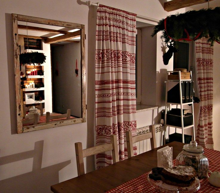 My Chic mirror from an old window frame Vintage Loft style.