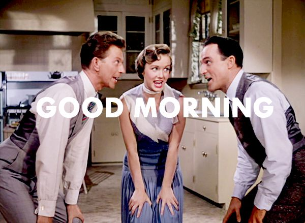 Best 25 singing in the rain ideas on pinterest gene kelly singin in the rain good morning good morning to you ccuart Image collections
