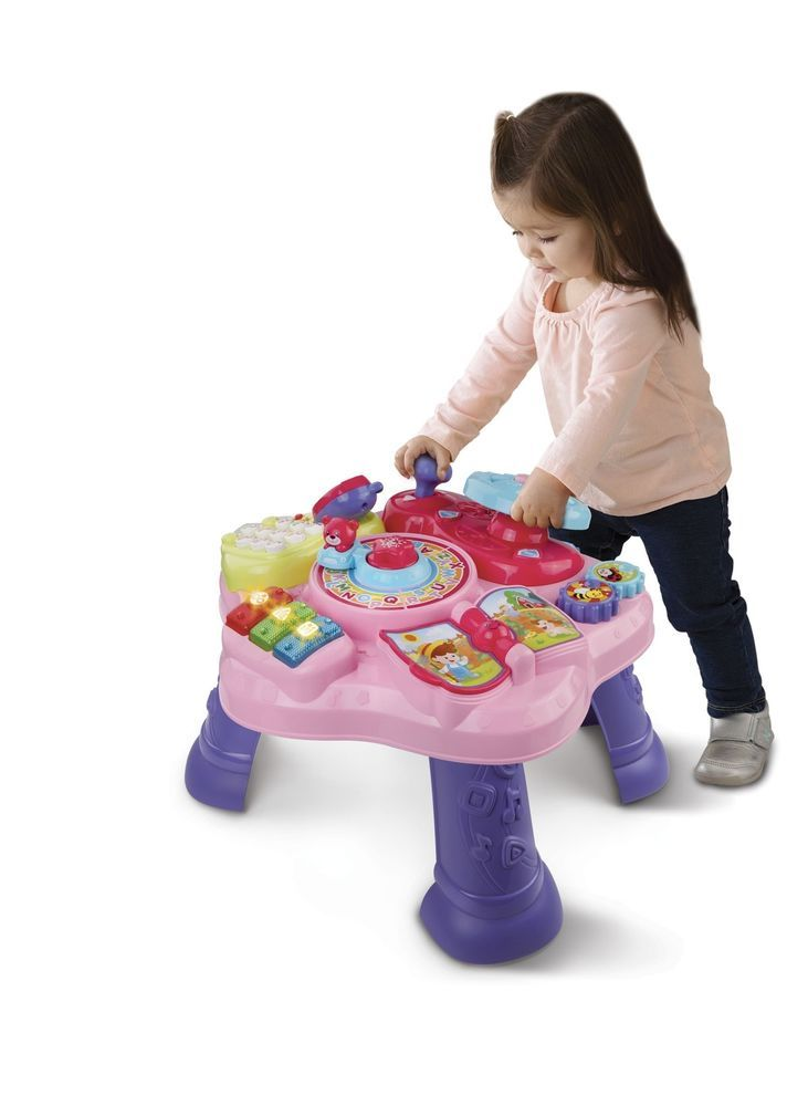 Baby Learning Table Toddler Development Toy Kid Activity Center Educational Game #VTe #Custom