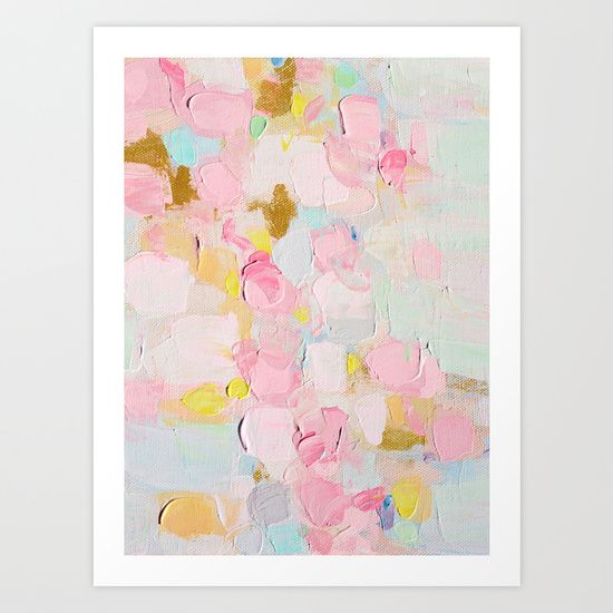 Cotton Candy Dreams by Ann Marie Coolick #prints #art #society6 #painting #abstract