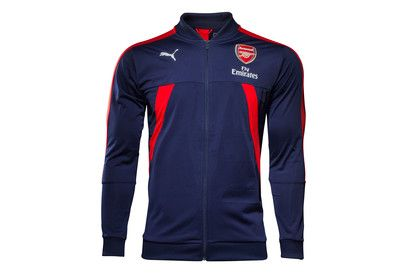 Puma Arsenal 17/18 Players Stadium Football Jacket Whether youre warming up or wrapping up in the stands of the Emirates, show your support for the Gunners in this Arsenal 2017/18 Players Stadium Football Jacket in Peacoat and Red from Puma.The offici http://www.MightGet.com/february-2017-2/puma-arsenal-17-18-players-stadium-football-jacket.asp