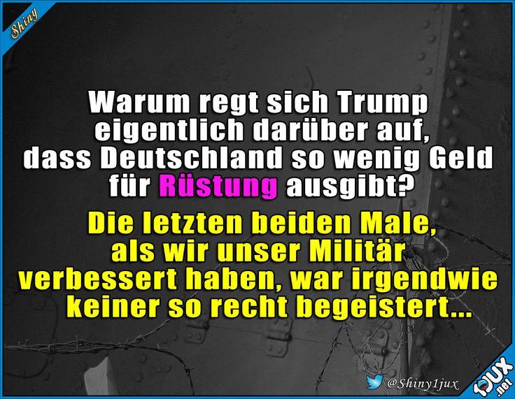 Das ging nicht so gut aus #Trump #sowahr #Sprüche #lieberBildung #Bundeswehr #J… – JessieJibooty
