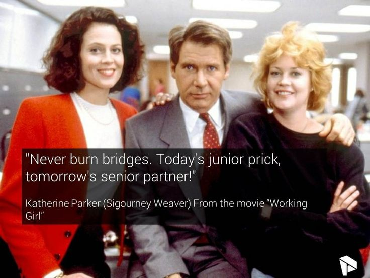 Working Girl Movie Quotes