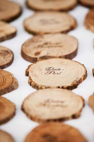 Spersonalizowane drewniane tabliczki