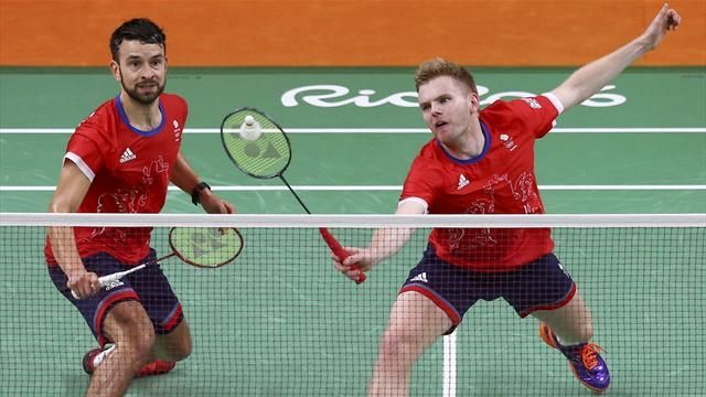 Rio 2016 Olympics: Marcus Ellis, Chris Langridge make badminton semi-finals - Rio 2016 - Badminton - Eurosport
