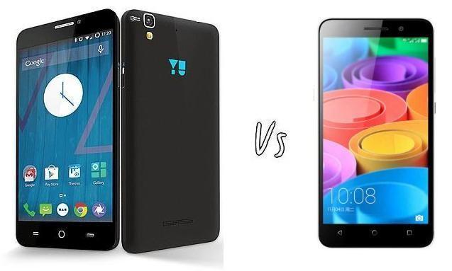 Micromax Yu Yureka Plus vs Huawei Honor 4X