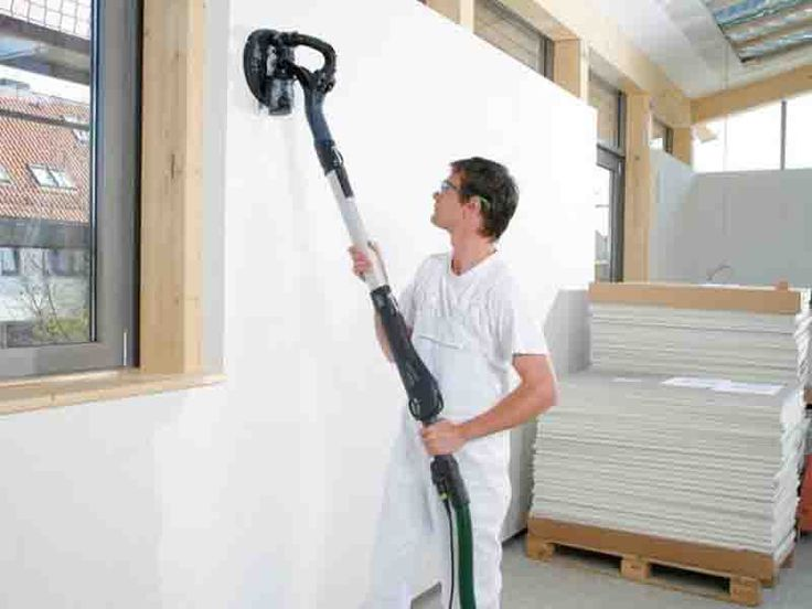 Festool Planex LHS 225 Drywall Sander  Drywall sanding can be a tedious and messy business, but the Festool Planex LHS 225 Drywall Sander is here to change that! #festool #drywall #sanding #clean  http://www.protoolreviews.com/tools/power/corded/grinders-sanders/festool-planex-lhs-225-drywall-sander/26391/