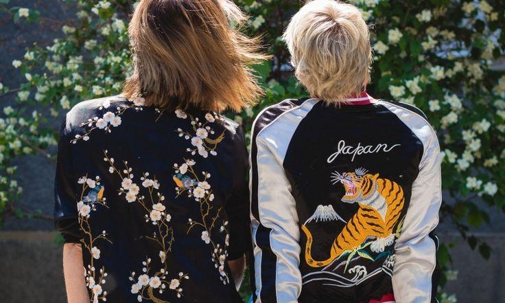 Topshop colourful reversible bomber jacket I Zara floral bomber jacket I #streetstyle #point41