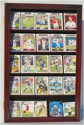 Ungraded Baseball Card Display Case