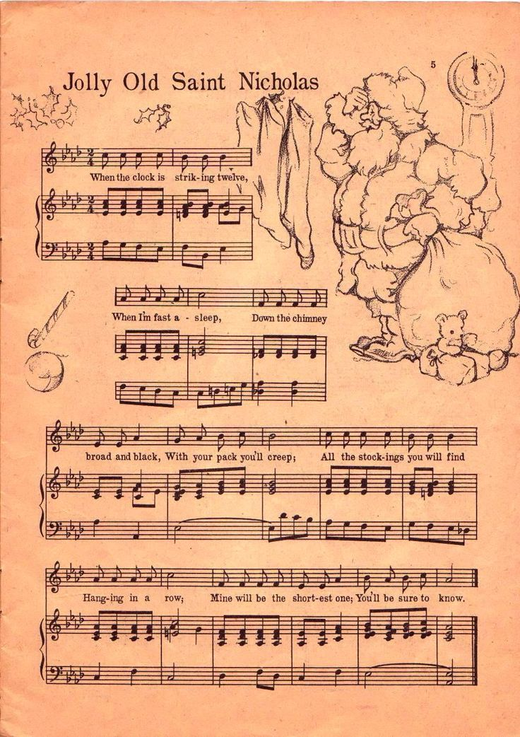 71 best christmas sheet music images on Pinterest Christmas ideas