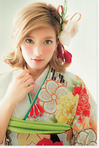 Rola - Japanese model #kimono pinterest.com/yurina3c/rola/ ローラ 着物