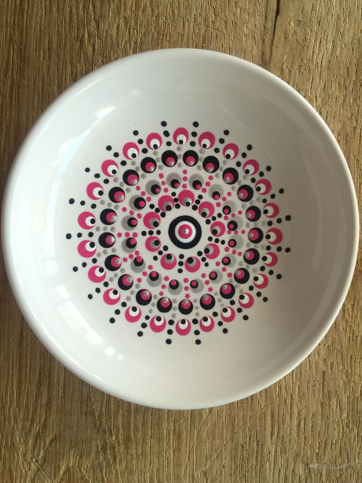 Dip & Dot: circles with dotted sunlight lines