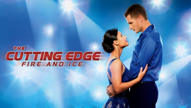 """The Cutting Edge: Fire and Ice"" - 1hr 26m (2010) :: Via New On Netflix UK    Former champ Alex Delgado has burned out on competitive skating, but speed skater James McKinsey believes she can still nab the gold -- if he can persuade the romantic skeptic to take him on as a partner."