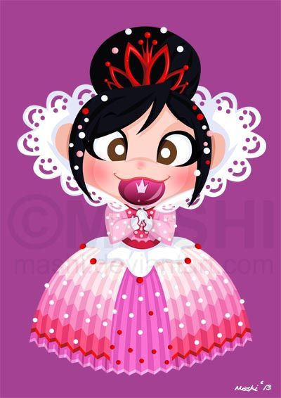 Vanellope. Disney princess.