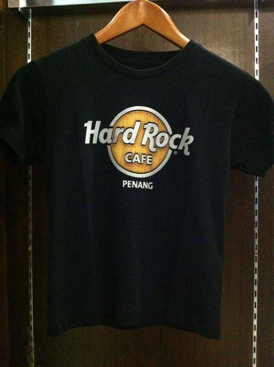 Hard Rock Cafe Penang Youth Wood Panel – RM80