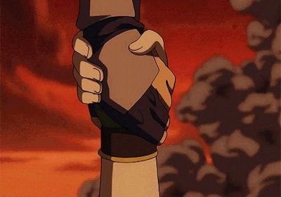 the last episode of Avatar the last airbender this part almost made me cry.