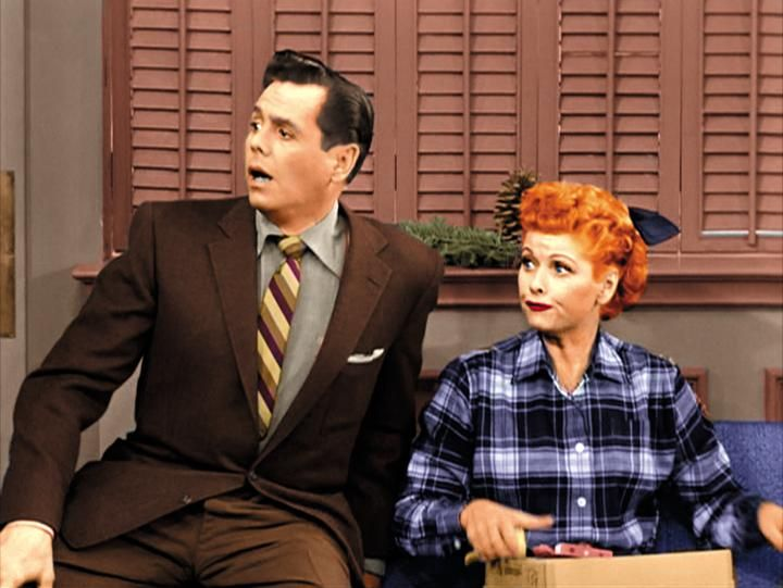 Ricky_Lucy_Christmas - Sitcoms Online Photo Galleries