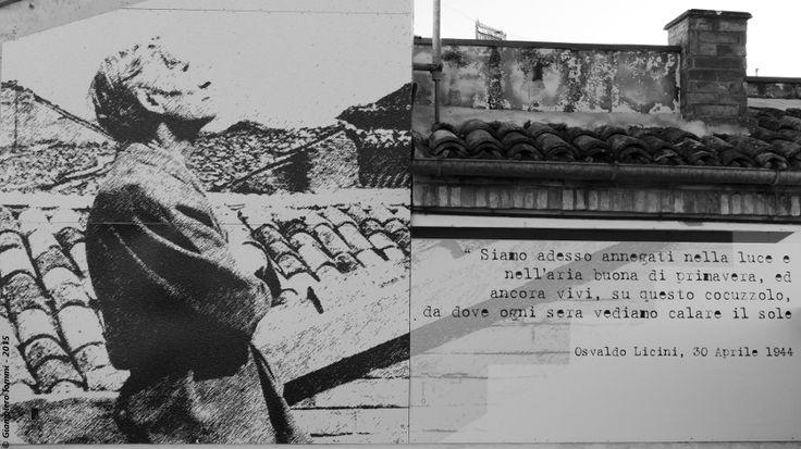[The villages of the straw: #hats, nature and art] Monte Vidon Corrado: details of the panoramic terrace of Osvaldo Licini !! Dettagli decorativi dalla terrazza di Osvaldo Licini nel borgo di Monte Vidon Corrado. [B/W photos] #HatsDistrict