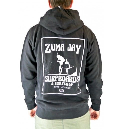 Zuma Jay Original Zip Hoody Black