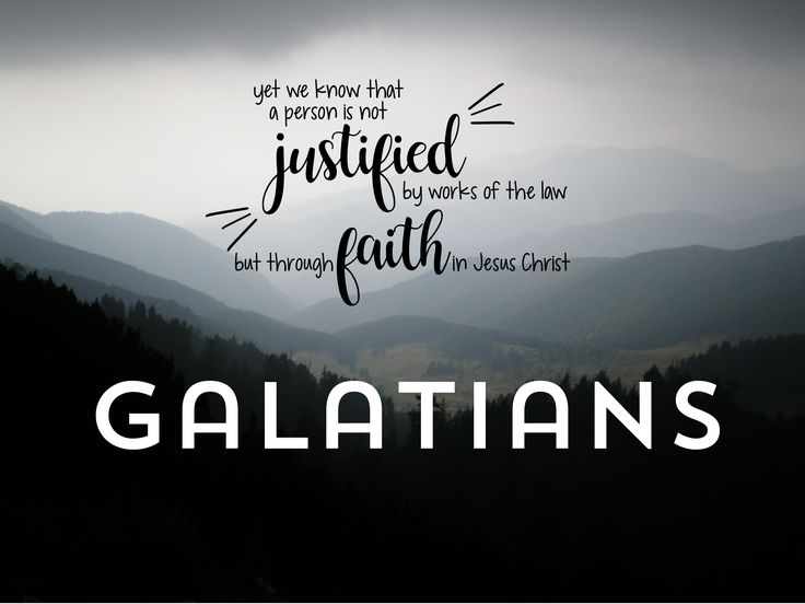 Galatians :: NT in 2017 Reading through the New Testament of the Bible in 2017. One chapter at a time.