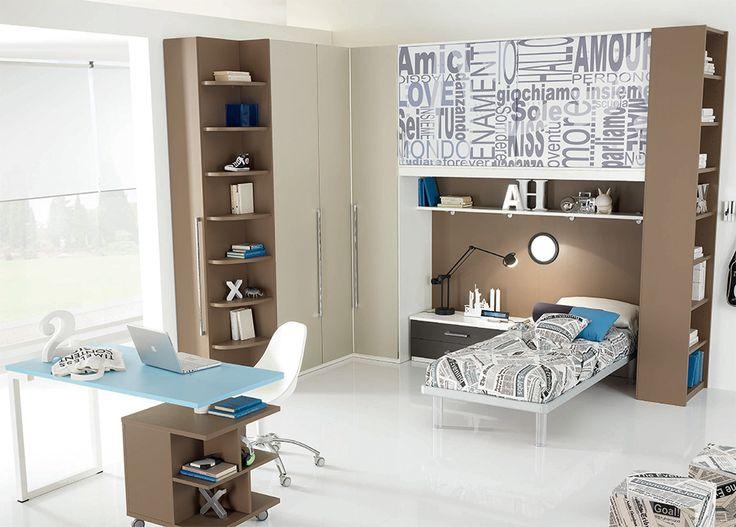 Kids Corner Bedroom Set WEB 57 by SPAR, Italy