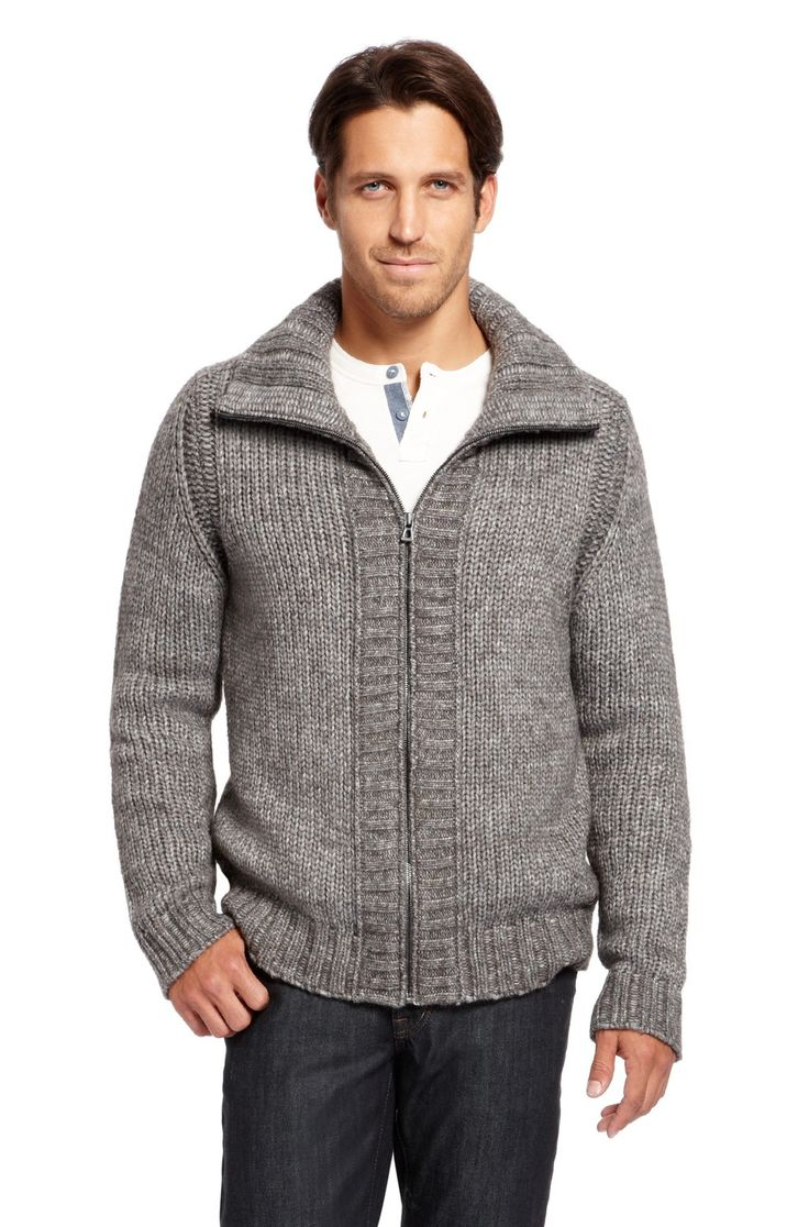 Hugo Boss - 'Kosa' | Wool-Blend Zip Cardigan. | #Men