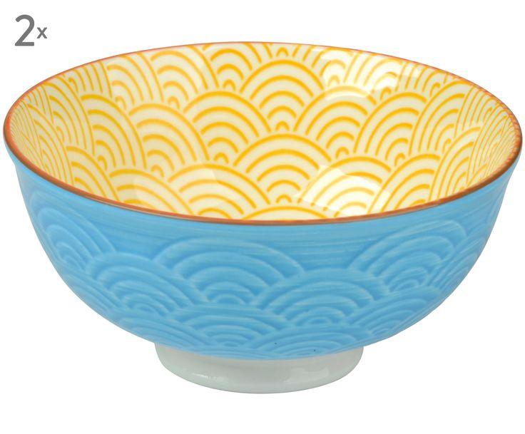 Egal ob Müsli, Joghurt oder Obstsalat – die Schale ZOÉ ist perfekt für kleine Snacks. Die Kombi aus Gelb und Blau macht ZOÉ zu etwas ganz Besonderem. Die Schale kommt im praktischen Zweier-Pack und verschönert den Frühstückstisch sofort!