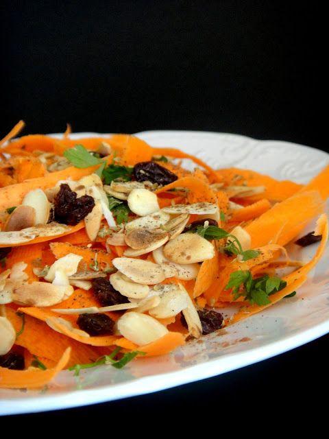 RAPA TACHOS: Salada de cenoura marroquina