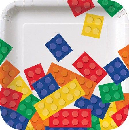 Piattini Lego Block Party