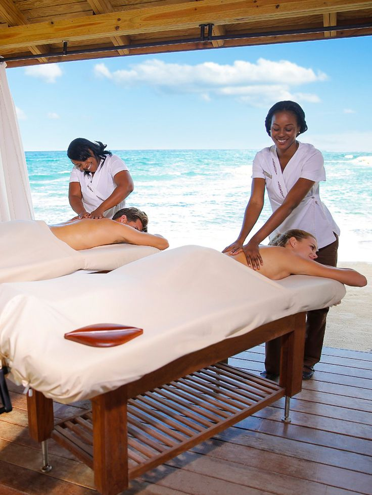 The only thing better than getting a massage, is doing it with the one you love.