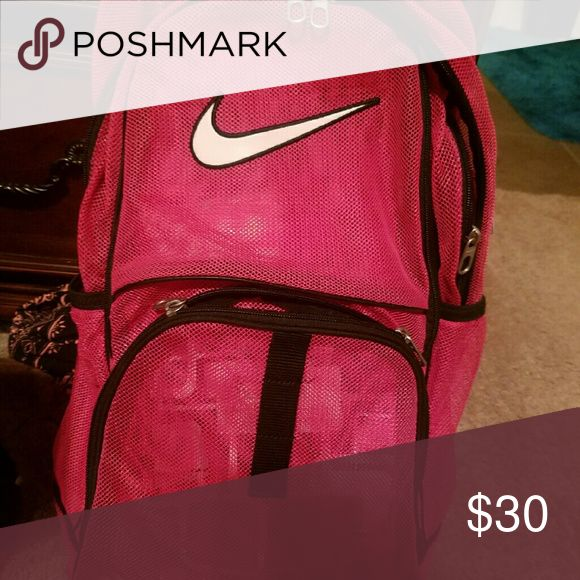 Nike Mesh Backpack In perfect condition Nike  Bags Backpacks