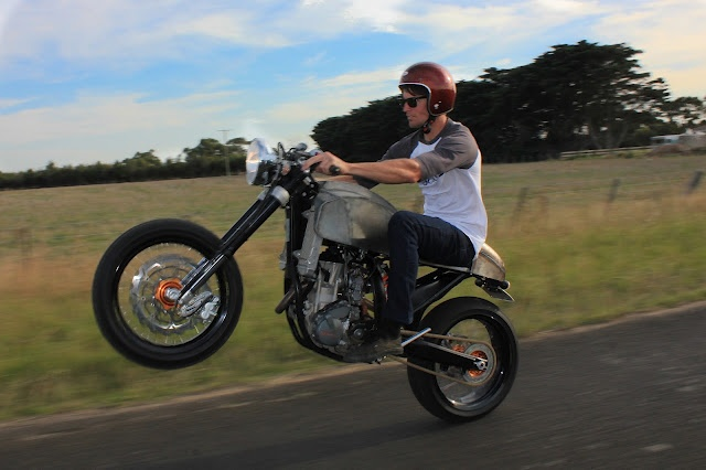"""well, this is a new... KTM 250EXC-F """" Café Racer """" 