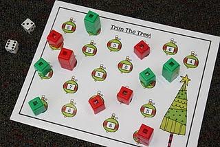 Christmas math game (free)