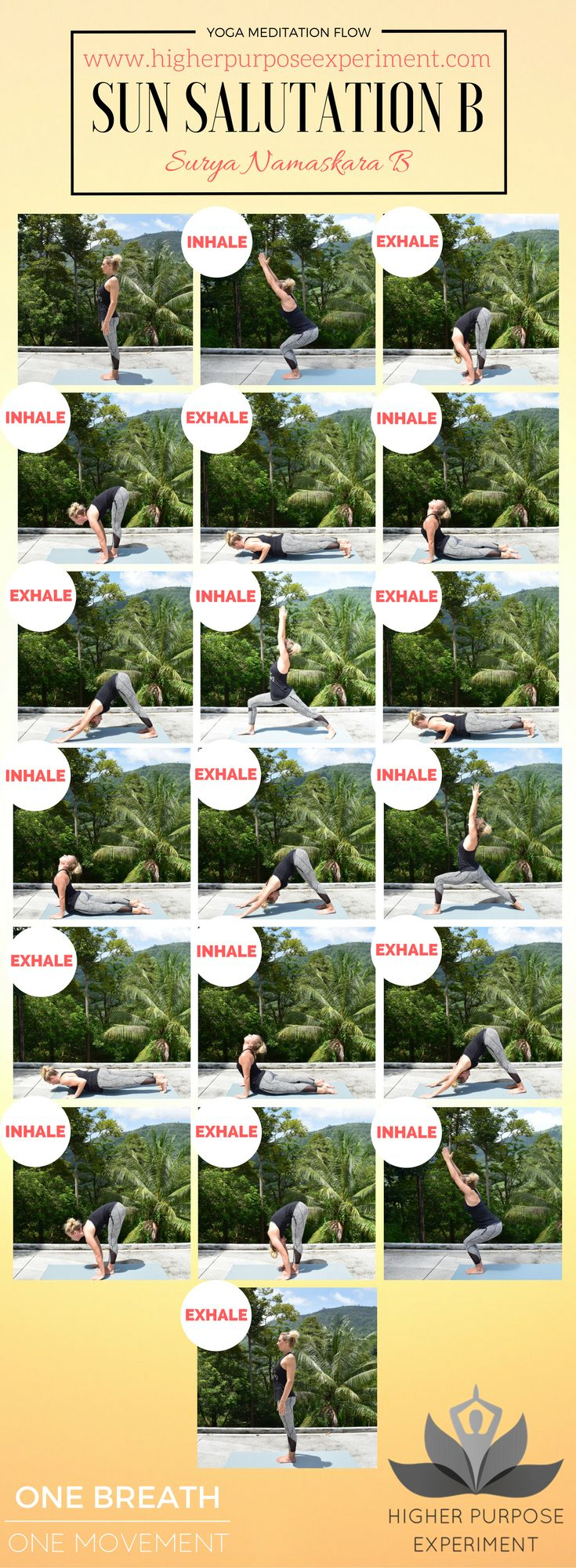 110 best yoga instructor images on pinterest kundalini yoga greet the morning with this sun salutation yoga sequence kristyandbryce Images