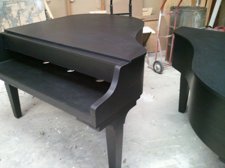Five Foot Black Baby Grand Shell For A Piano Bar In