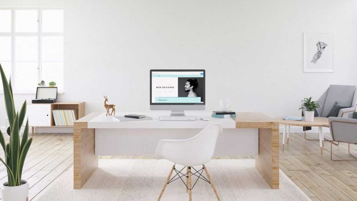19 Amazing Minimalist Home Office - Home Office