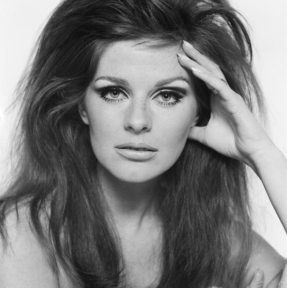 Paulene Stone, British fashion model, photographed by Brian Duffy for a calendar, c.1965
