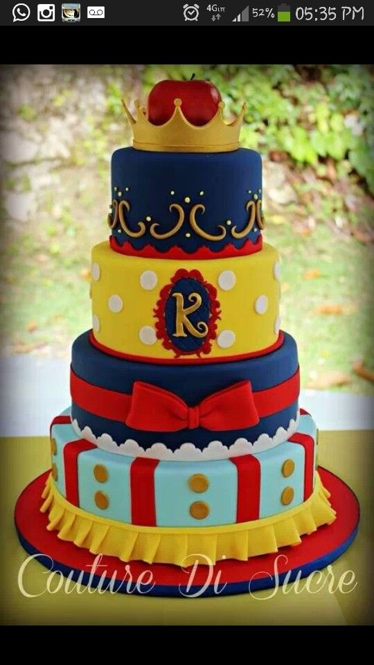 Snow White Cake! Awesome!
