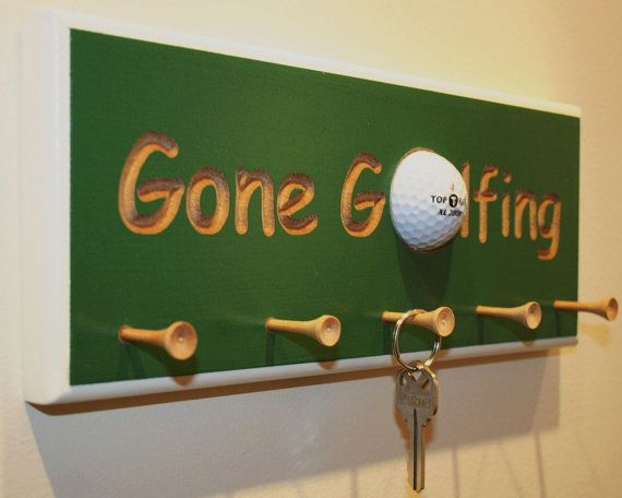 Here is a great gift for you or the golf lovers in your life. Why waste time searching for your keys while trying to make your tee time. Just place