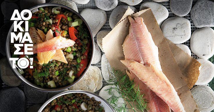 Σαλάτα δεν σημαίνει κρύο πιάτο απαραίτητα. Μπορεί να είναι ζεστό, λαχταριστό και μάλιστα με πέστροφα. Για δες εδώ!