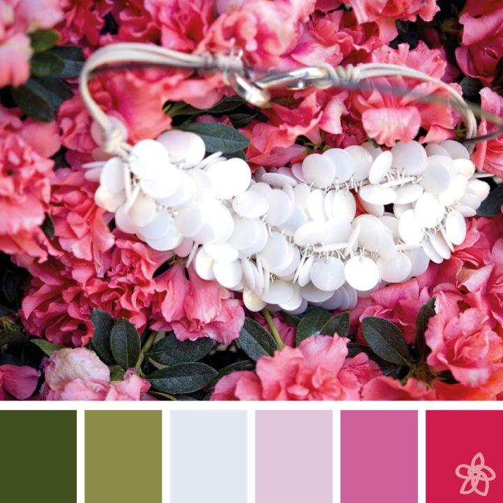 [azalea necklace] - jardin joli - Antonella Filippini