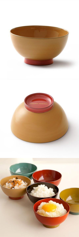 【aisomocosomo 飯椀(中川政七商店)】/日本人の食生活が多様化したといっても、白米をよそう飯椀はやはり一日一度は手にする日常の器。漆器の飯椀は、シンプルで使い心地よく、使うほどに愛着が増していくこと請け合いです。日々の気持ちがはずむ飯椀、いかがですか? #shitsurindo #aisomocosomo #urushi #crafts #tableware