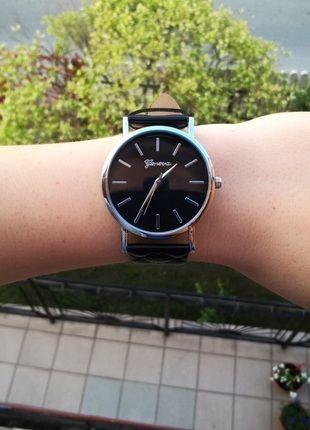 Kup mój przedmiot na #vintedpl http://www.vinted.pl/akcesoria/bizuteria/13682666-zegarek-geneva-pikowany-czarny-nowy-idealny-na-prezent