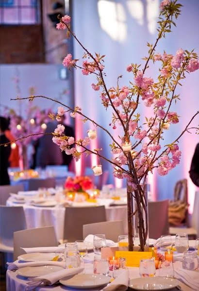 Oriental Themed Weddings With Cherry Blossom Wedding Decorations   http://simpleweddingstuff.blogspot.com/2014/06/oriental-themed-weddings-with-cherry.html