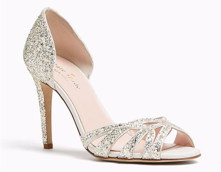 glass wedding shoes. smashing the glass\u0027 wedding must-haves from our fave, kate spade | roundup glass shoes