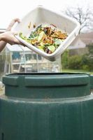 Compost bins turn kitchen scraps into a rich source of garden nutrients.