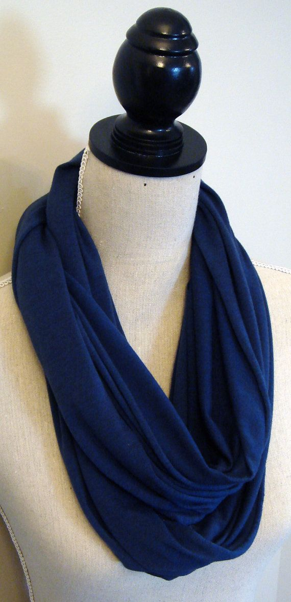 Infinity Scarf - Jersey Loop Scarf Eternity Scarf on Etsy